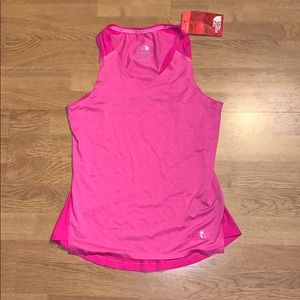 NWT The North Face Dynamix Tank, Pink, M